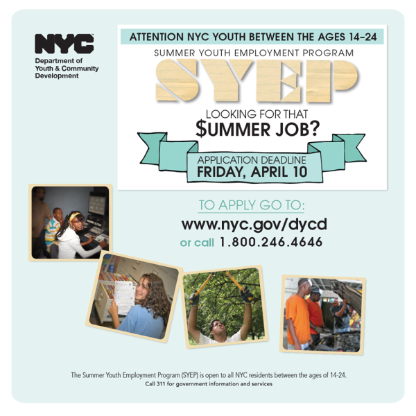 The Summer Youth Employment Program