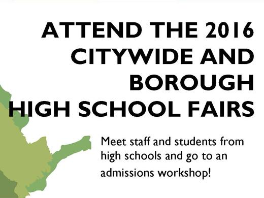 Borough High School Fairs