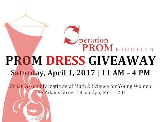 Prom Dress Giveaway   John Dewey High School