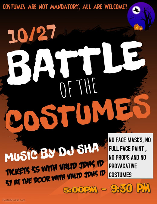 10/27 Battle of the Costumes