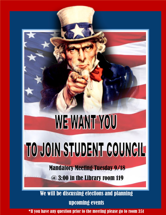 Law Academy - We want you to join student council