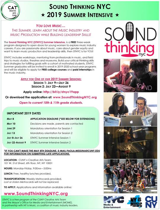 Sound Thinking NYC | John Dewey High School