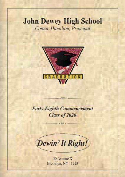 Graduation Booklet