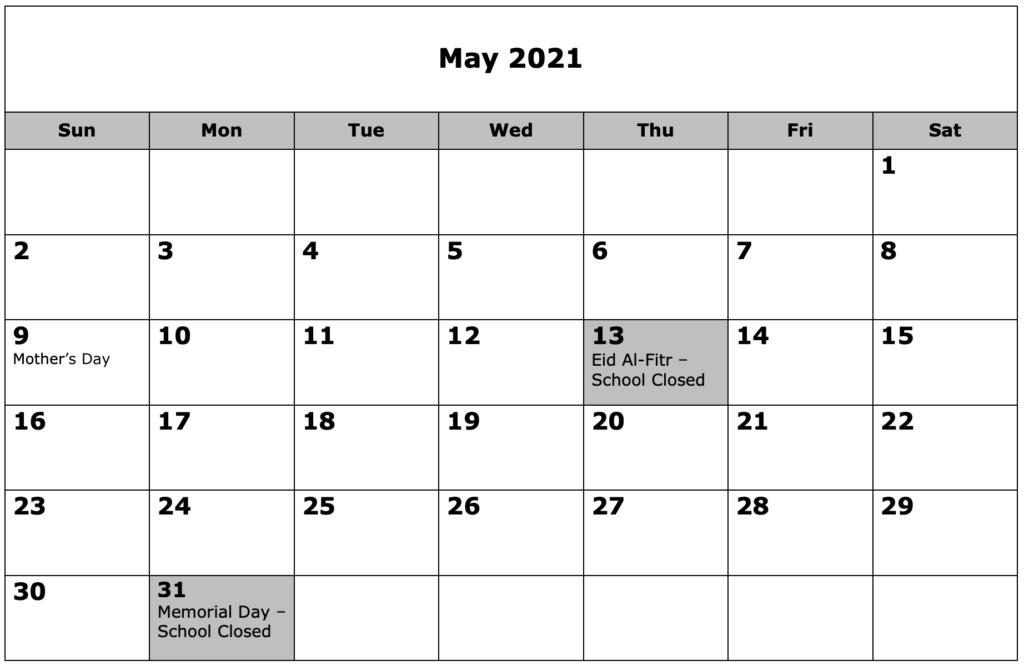 School Calendar 05