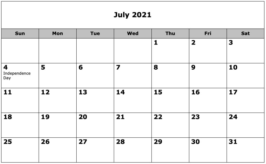 School Calendar 07