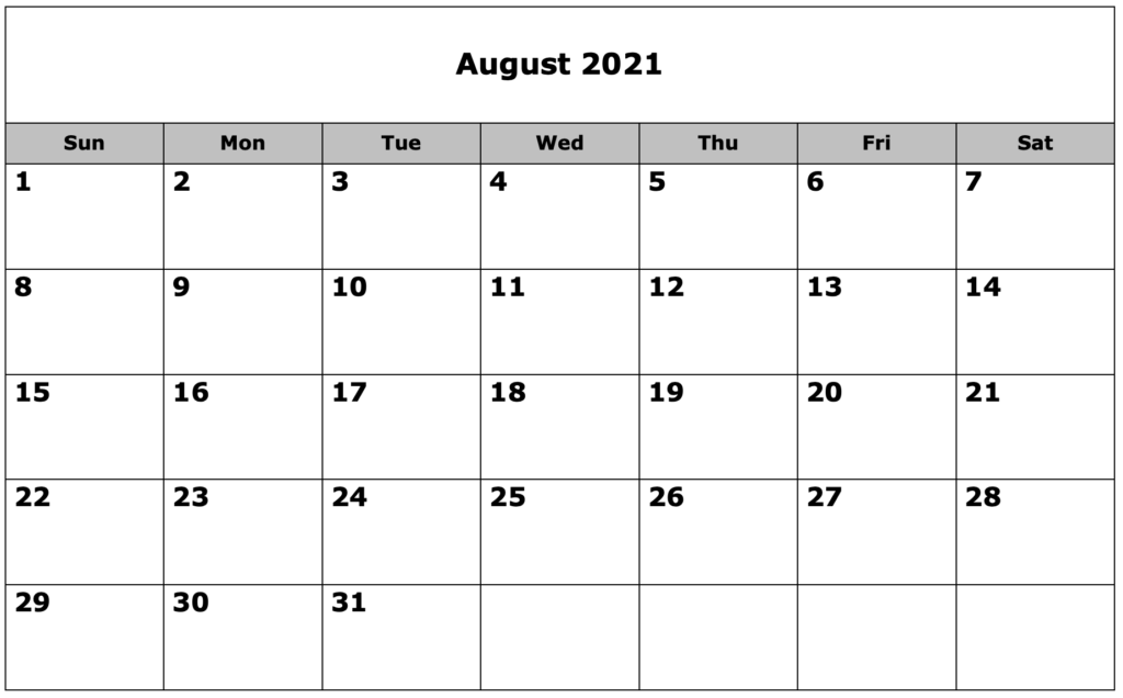 School Calendar 08