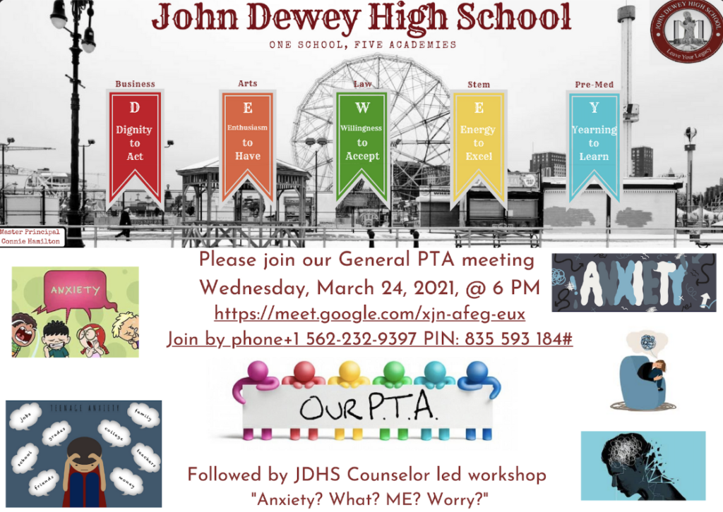 PTA Meeting March 24th, 2021