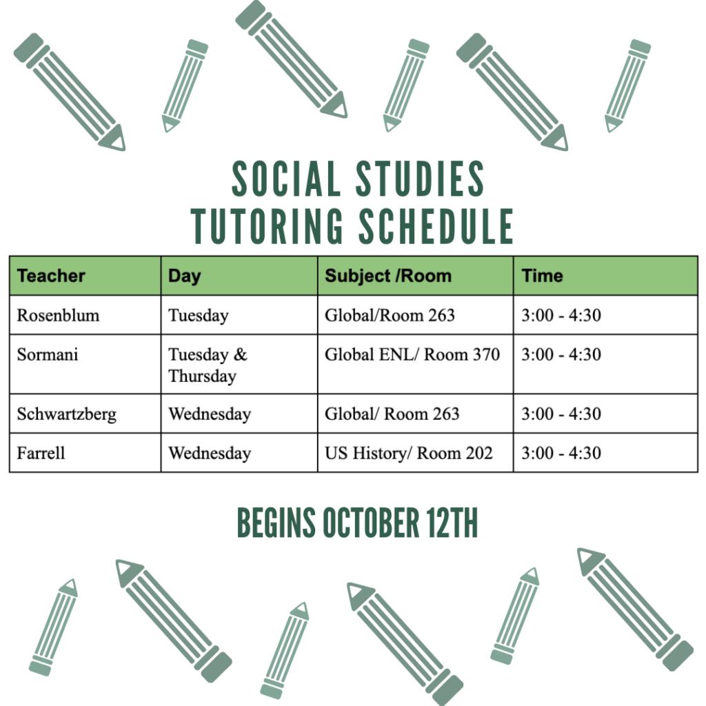 Social Studies Tutoring