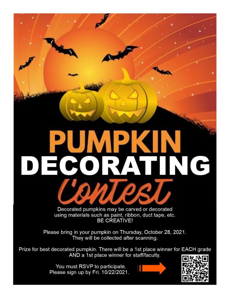 Pumpkin Decorating Contest